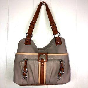 Rosetti leather like shoulder bag lots of pockets